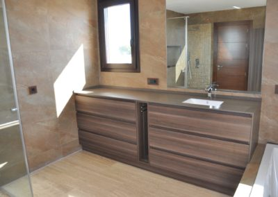 Baño estilo clásico