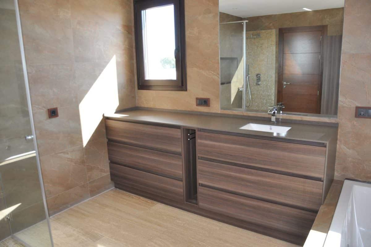 Baño clásico. Los mejores muebles de baño en Mallorca.